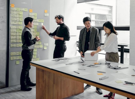 3 – Teamwork at Phoenix Design, Studio Shanghai