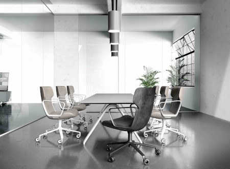 "3 – Use of the Conference Chair ""Intra"" of Wilkhahn, Design by Phoenix Design"