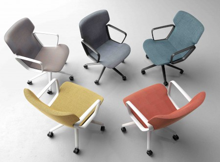 "2 – Colours of the Conference Chair ""Intra"" of Wilkhahn, Design by Phoenix Design"