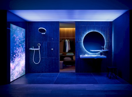 GOLD: Excellent Product Design Bath and Wellness für hansgrohe RainTunes