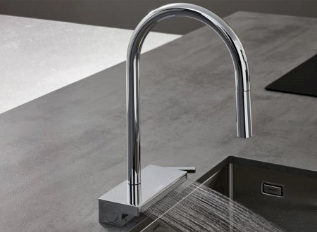 GOLD: Excellent Product Design Kitchen für hansgrohe Aquno Select M81
