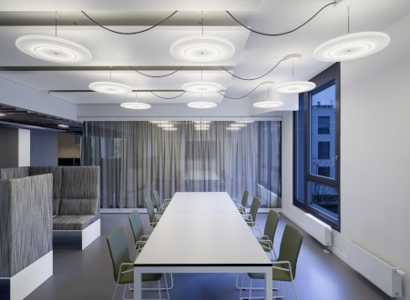 Phoenix Design Studio München, Meeting; Interior Design: Ippolito Fleitz Group; Fotograf: Zooey Braun